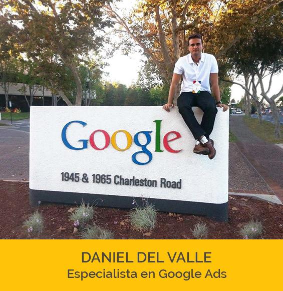 daniel del valle en las oficinas de google de san francisco